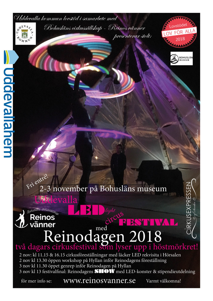 Uddevalla Led Light Cirkusfestival 2-3 nov